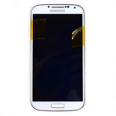 OEM Samsung Galaxy S4 white LCD Digitizer + Frame SGH-M919 T-Mobile {35}