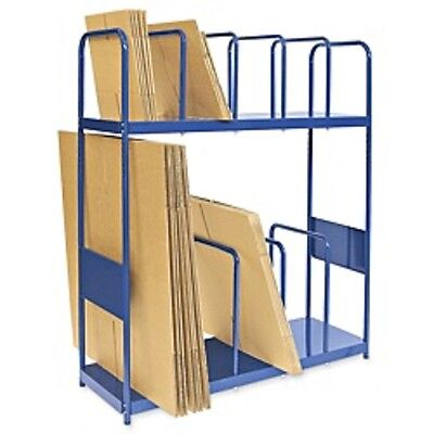 Uline 2 Tier Carton Stand with Casters