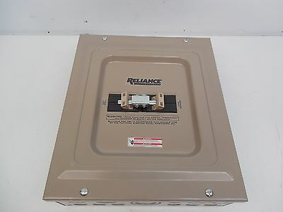 Reliance 60 Amp 240 Volt Generator Transfer Switch