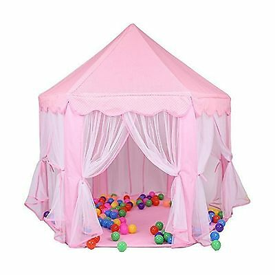 e-joy Kids Indoor/Outdoor Play Fairy Princess Castle Tent Portable Fun Perfec...