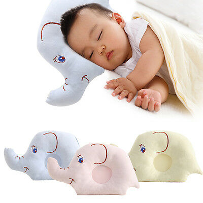 Baby Soft Pillow Infant Toddler Lovely Baby Bedding Prevent Flat Head