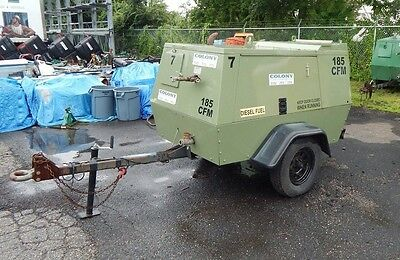 Sullair 185 CFM Tow Behind Air Compressors