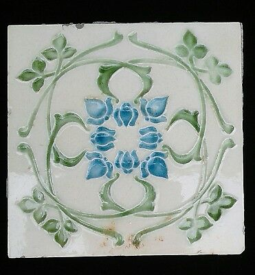 Art Nouveau Tile Original