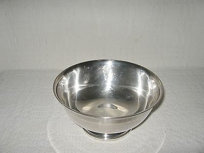 Vintage - Silverplate 8-Inch Revere Bowl by Gorham EP YC780