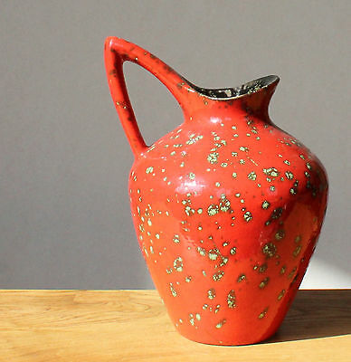 Emmons ES Keramik Vase 60er 70er Lava Time Very Handsome Indeed Nr 883-20cm
