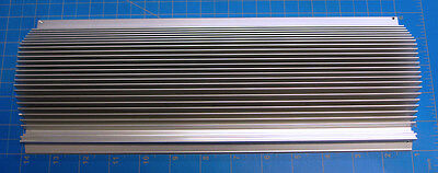 Extruded Aluminum Heatsink 124mm x 325mm x 43mm for Project or LED Application