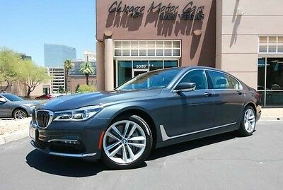 2016 BMW 7-Series Base Sedan 4-Door 2016 BMW 750i xDrive Sedan $103k+MSRP Executive 2 Package Driving Assistance PKG