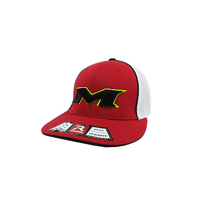 Miken Hat by Richardson (R165) Red/White/Red/Volt/Black XS/SM