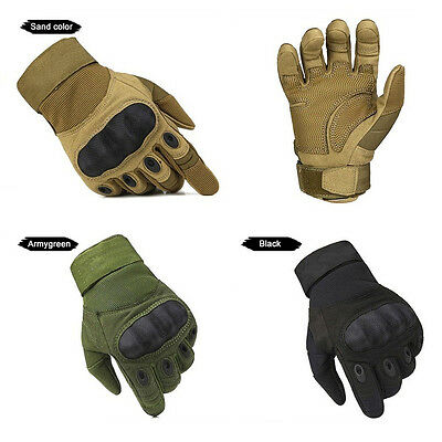 Full Finger Tactical Gloves Outdoor Sports Military Climbing Motorcycle Gloves