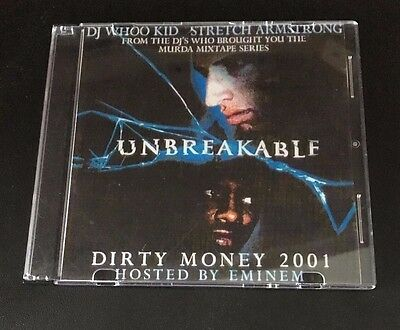 DJ WHOO KID STRETCH ARMSTRONG Eminem UNBREAKABLE CLASSIC Mixtape CD