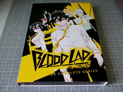 Blood Lad: The Complete Series (DVD, 2014, 2-Disc Set) NEW SEALED