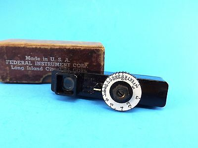 Vintage Photographic Range Finder  IDEAL Made in USA by Federal Instrument Corp.