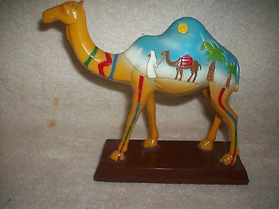 Hand Painted Middle East Camel Art