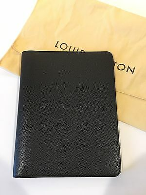 Louis Vuitton Desk Agenda Cover Taiga Leather