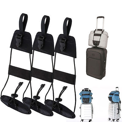 Travel Supply Luggage Suitcase Adjustable Belt Add A Bag Strap Carry On Bungee