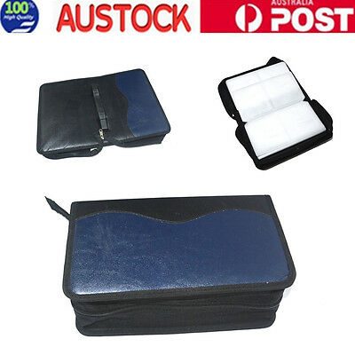 NEW 128 CD DVD DISC Holder Album Storage Case Folder Wallet Carry Bag Organizer