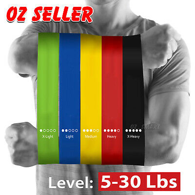 Heavy Duty Resistance Training Band Loop Power GYM Fitness Exercise Workout Yoga