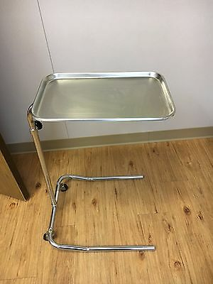 Mobile Physician Surgical Instrument  Mayo Stand Stainless Steel Tray