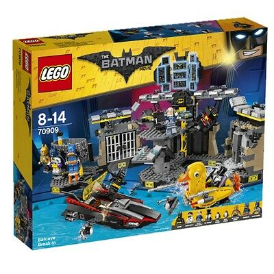 Lego Batman Movie Batcave burglary 70909