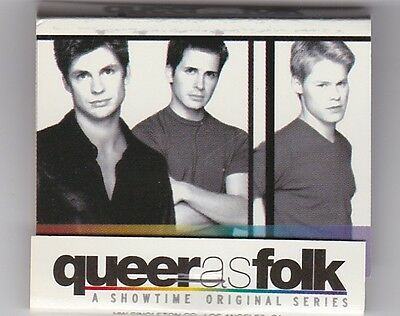 Showtime - Queer as Folk - Book of Matches - Set of 13
