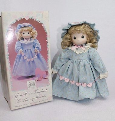 Precious Moments Limited edition Porcelain Bisque Doll Enesco collection