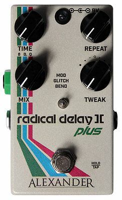 Alexander Pedals Radical Delay II Plus - Authorised Dealer! Brand New!