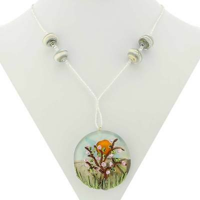 GlassOfVenice Murano Glass Blooming Tree Necklace