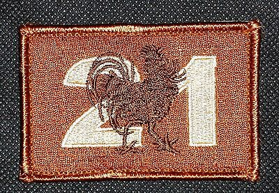 21 Construction Australian Army Unit Patch Camo   New - Rooster