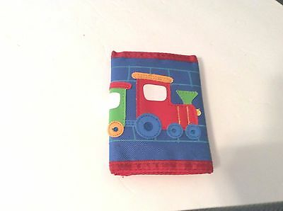 Boy's Trifold Wallet by Stephen Joseph, Choo Choo Train, Blue/Red/Green