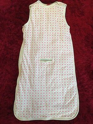 COTTON ON Baby Pink Floral Print Sleeping Bag (Size 000-00 / 0-6 Months) NWOT