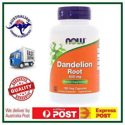 Dandelion Root, 500 mg, 100 Capsules by NOW Foods - Fatty Acids Carotenoids