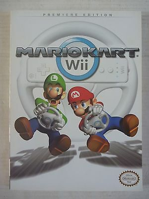 PRIMA Official MARIO KART WII game STRATEGY GUIDE Hint Book for Nintendo Wii
