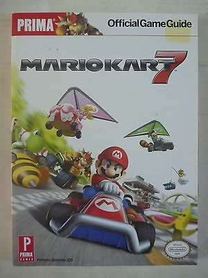 PRIMA Official MARIO KART 7 game STRATEGY GUIDE Hint Book for Nintendo 3DS