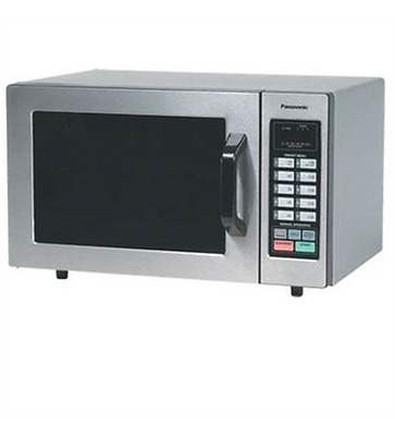NEW Panasonic NE-1054F 1000 Watt Commercial Microwave Oven with 10 Programmable