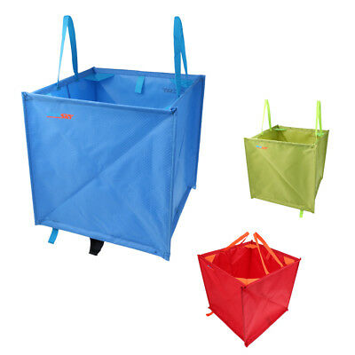 3x Foldable Throw Line Rope Cord Cube Bag Storage for Climbing Tree Surgery