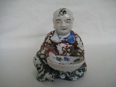 Antique Chinese Porcelain Seated Figure
