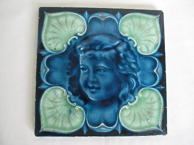 Antique English Arts & Crafts Tile
