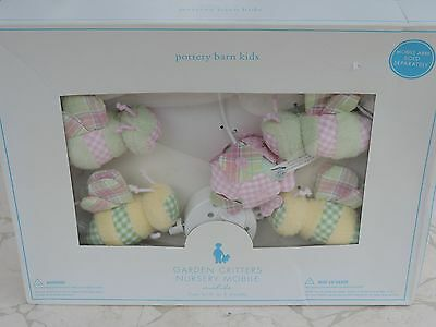 New Sealed Packaging Pottery Barn Garden Critters Nursery Crib Mobile