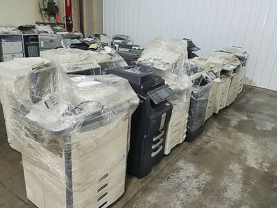 Lot of 15 business copiers