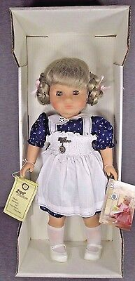 """ZAPF CREATION Doll Made in Western Germany, Approx. 18"""". w/ original box and tag"""