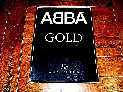 Abba Gold Greatest Hits U.K. Songbook Piano & Guitar 19 Songs! Dancing Queen