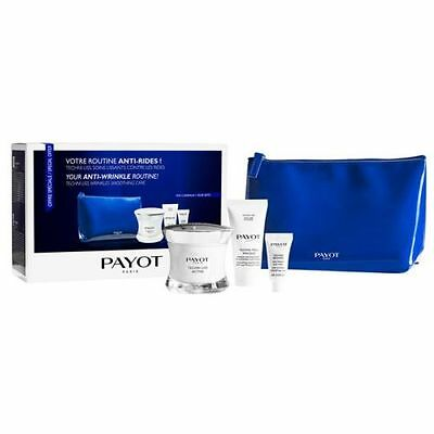 PAYOT Techni Liss Anti-Wrinkle Routine Set - 50ml Face Cream, 3ml Eye, 15ml Peel