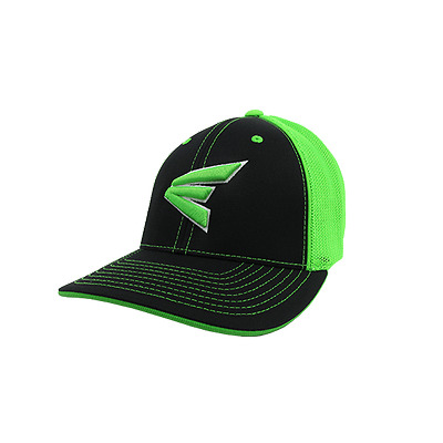 Easton Hat by Pacific (404M) Black/Neon Green/Black/White/Neon Green LG/XL, new