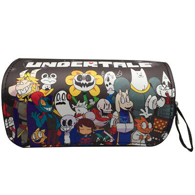 Undertale Pencil Case Pen Case Double layer Large capacity Cartoon pen Bag Gift