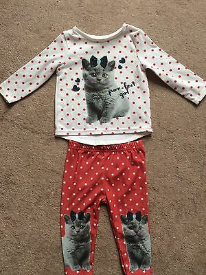 Baby Girls Cat Outfit 0-3months