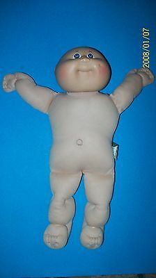 CABBAGE PATCH KID DOLL coleco head  BALD 00 FULL SIZE