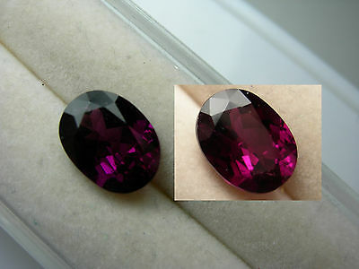 rare Grape Garnet color change gem Pyrope Purple Pink Magenta Tanzania 2.83ct