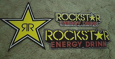 Rockstar Energy Drink Patches