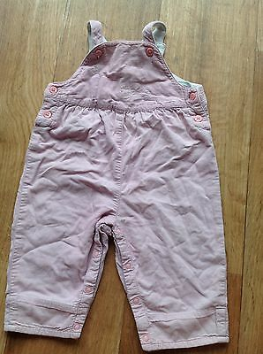 Baby Girls Gymboree Cord Dungarees Romper Outfit 3-6 Months Will Combine Post