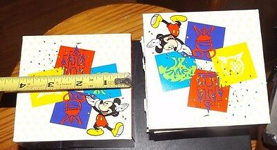Walt Disney World Gift Box Lot Mickey Mouse